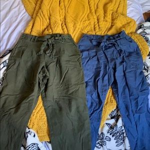 2 pairs of trousers!
